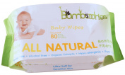 Baby Wipes - Unscented - All Natural Bamboo for Sensitive Skin - Soft Case and Easy Dispenser - Hypo-allergenic Durable Soft Sheets Using Organic Extracts - Highest Quality
