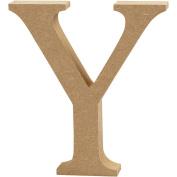 Letter, H: 8 cm, MDF, Y, 1pc