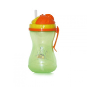 LORELLI PM SPORT BOTTLE W/HANDLE GREEN plastic colourful fun sippy cups child
