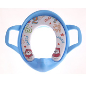 AZLife Secure Comfortable Toilet Training Ring Potty Seat with Handles for Boys and Girls