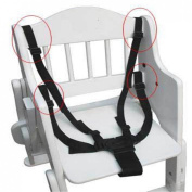 Kungfu Mall Adjustable 5 Point Baby Kid Chair Pram Stroller Buggy Seat Safety Fixaction Drive Belt Strap Harness