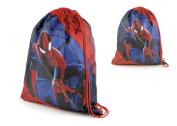 Spiderman Kids PE School Bag, Swimming Bag, Drawstring Bag Gym Bag Back To School