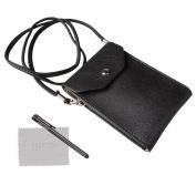 xhorizon TM SR Universal 15cm Leather Messenger Bag Traveller Pouch Shoulder Purse Wallet Case For iPhone SE(2016) 5 5S iPhone 6/6S iPhone 6/6S Plus Samsung S6/S6 Edge S7/S7 Edge