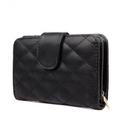 Uwant Fashion Ladies Synthetic Pu Leather Quilted Purse Clutch Wallet