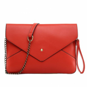 Uwant Fashion Ladies Large Synthetic Pu Leather Envelope Clutch Bag
