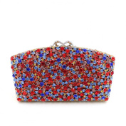 Chirrupy Chief Bling Colourful Diamond Clutch Purse Luxury Rhinestone Clutch Evening Bag