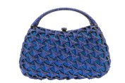Yilongsheng Glittery Layers Party HandBags with Crystal Diamonds and Arched Chain for Ladies