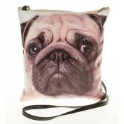 Pug Dog Face Crossbody/Shoulder Bag