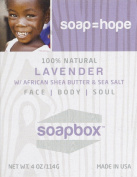 SoapBox Lavender Bar Soap - 120ml - 2 Pack! by Soapbox Soaps