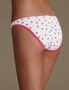 Marks & Spencer Low Rise Bikini Knickers 3 pack size 14
