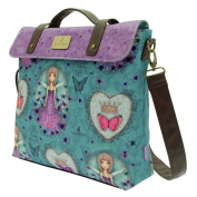 Santoro Mirabelle Satchel - Butterfly 40cm wide, 28cm high and 8cm deep.