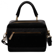 RI2K Holloway Black Pony leather Satchels