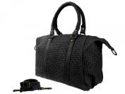 Valerie BAG2Basics-Shoulder Bag in Various Colours-Real Leather Bowling Bag Weekender