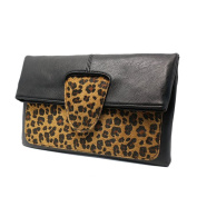 Multi-mo Newest Women's Elegant Leopard Style Clutch Bags Evening Bag for Party Wedding