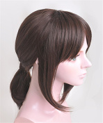 LanTing Attack On Titan Ymir Brown Short Woman Cosplay Party Fashion Anime Wig