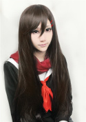 LanTing Kagerou Projet Tateyama Ayano Brown Long Woman Cosplay Party Fashion Anime Wig