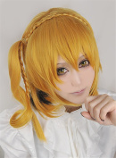LanTing Kagerou Projet MOMO Gold Mix Woman Cosplay Party Fashion Anime Wig