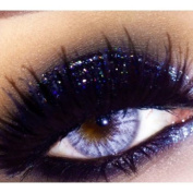 Glitter Eyes - GH23 Holographic Black Glitter Eye Eyeshadow Eye Kit Shadow Large 10ml Pot
