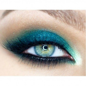 Glitter Eyes - GH15 Holographic Green Blue Glitter Eye Eyeshadow Eye Kit Shadow Large 10ml Pot