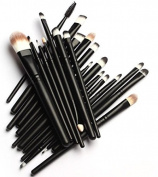 TopSuper Pro Cosmetic Makeup 20pcs Brushes Set Powder Foundation Eye shadow Eyeliner Lip Brush Tool