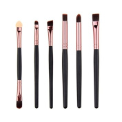 Face Like 6 Pcs Makeup Brushes Set Kit Eyeshadow Brush Eyebrow Brush Sets