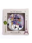 Filosofille Filo et Sofie in Paris Bag Double Mirror