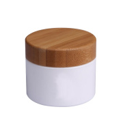 100g 100ml Environmental Bamboo Lid Cream Cosmetic Facial Mask Bottle Jars Empty Comtainer