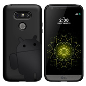 Cruzerlite Androidified A2 TPU and Carbon Case for LG G5 - Black