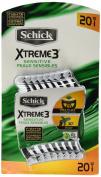 Schick Xtreme 3 Disposable Razors, 20 Ct
