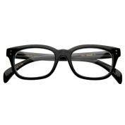 Premium Quality RX Optical Sleek Horn Rimmed Clear Lens Eye Glasses