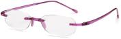 Scojo Unisex Gels Reading Glasses, +1.5, Amethyst