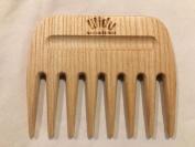 WIDU ash wood hair pick