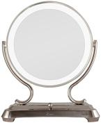 Zadro Makeup & Vanity Mirrors 41cm . L x 32cm . W Surround Light Vanity Mirror in Polished Nickel GLA75