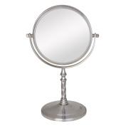 Zadro 5X/1X Swivel Satin Nickel Vanity Mirror