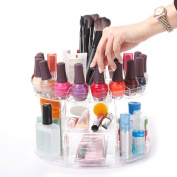 Modern Home Deluxe Rotating Clear Cosmetic/Makeup Organiser