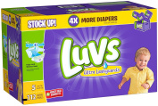 Luvs Ultra Leakguards Nappies, Value Pack