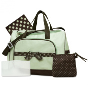 Baby Essentials 4 in 1 Nappy Bag - Sage Green