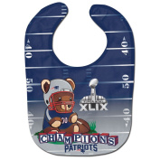 New England Patriots 2015 Super Bowl XLIX Champions Mascot Infant Baby Bib
