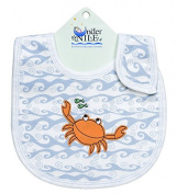 Under The Nile Unisex-Baby Infant Print Wave Bib