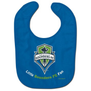 Seattle Sounders WinCraft Blue Green Logo Infant Baby Bib
