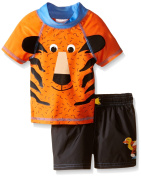 Candlesticks Baby Boys Tiger Rashguard Set