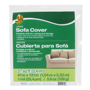 Duck Large Sofa Cover, Clear, 100cm x 330cm