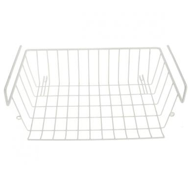 hanging cabinet rack storage organiser basket under shelf. Black Bedroom Furniture Sets. Home Design Ideas