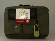 Compass Olive Green Medium Book & Bible Cover