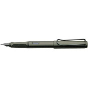 Lamy Safari Fountain Pen, Charcoal, Medium Nib