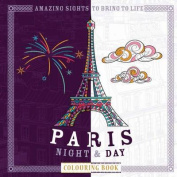Paris Night & Day Colouring Book