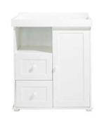 East Coast Nursery Dresser With Changing Top - White.