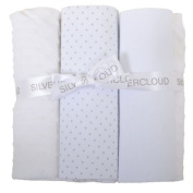 Silver Cloud Cot Bedding Bale