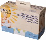 Bieco 409831 30 Disposable Bibs