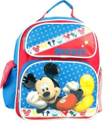 Small Backpack - Disney - Mickey Mouse Blue School Bag New 638061